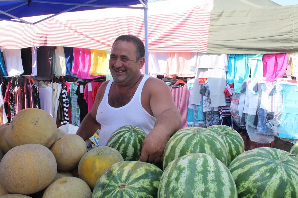 На пазар при комшиите в Делчево