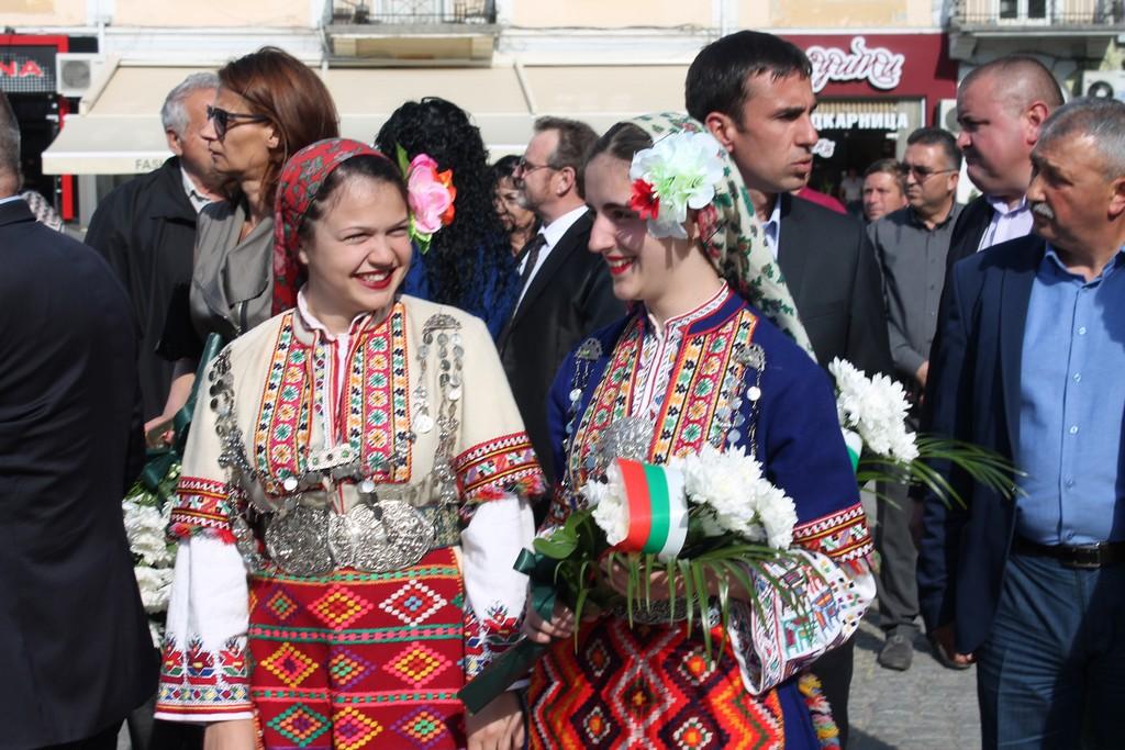 Неврокопчани почетоха паметта и делото на Гоце Делчев