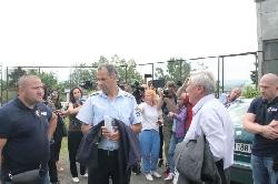 Показен арест и белезници за началника на КАТ-Благоевград