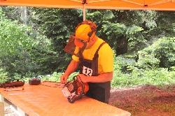 Най-добрите дървосекачи премериха сили в състезание