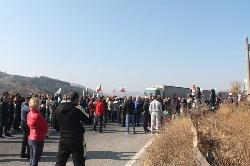 Втора блокада на Е-79. Стотици въстанаха срещу високите цени