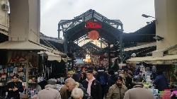 Предколедно пазара в Солун