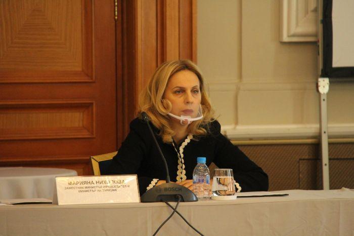 Марияна Николова, снимка: Пресцентър