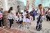 Деца подредиха картини в Епископската базилика в Сандански